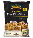 marathon mini chicken dim sims