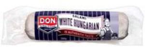 white hungrian salami